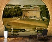 Casino of Raphael in the gardens of the Villa Borghese, Rome, 1807 (oil on canvas) wall mural kitchen preview