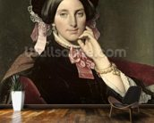 Madame Gonse, 1852 (oil on canvas) wall mural kitchen preview
