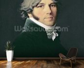 Portrait of the Artists Father, 1804 (oil on canvas) wallpaper mural kitchen preview