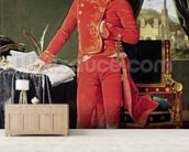 Bonaparte as First Consul, 1804 (oil on canvas) mural wallpaper living room preview