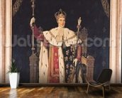 Portrait of Charles X (1757-1836) in Coronation Robes, 1829 (oil on canvas) wall mural kitchen preview