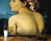 Female nude, 1807 (oil on canvas) wall mural kitchen preview