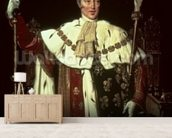 Portrait of Charles X of France, 1829 (oil on canvas) (detail of 59967) mural wallpaper living room preview