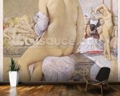 Odalisque or the Small Bather, 1864 (w/c on paper) wall mural kitchen preview