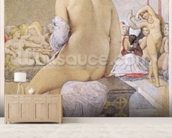 Odalisque or the Small Bather, 1864 (w/c on paper) wall mural living room preview
