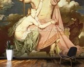 Jupiter and Thetis, 1811 (oil on canvas) wall mural kitchen preview