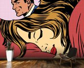 Pop Art Dream Romance wallpaper mural kitchen preview