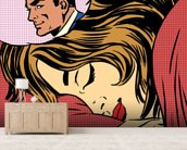 Pop Art Dream Romance wallpaper mural living room preview