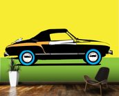 Pop Art - Car mural wallpaper kitchen preview