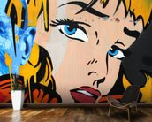 Pop Art wall mural kitchen preview