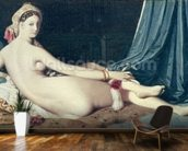Odalisque, 1814 (oil on canvas) wall mural kitchen preview