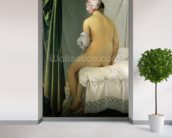 The Bather, called Baigneuse Valpincon, 1808 (oil on canvas) wallpaper mural in-room view