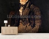 Portrait of Jean-Pierre-Francois Gilibert (1783-1850) 1804-05 (oil on canvas) wall mural living room preview