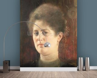 Portrait of a lady wall mural