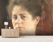 Portrait of a lady wall mural living room preview