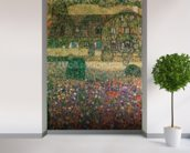 Country House by the Attersee, c.1914 (oil on canvas) mural wallpaper in-room view