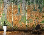 The Birch Wood, 1903 (oil on canvas) wall mural kitchen preview