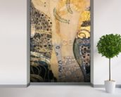 Water Serpents I, 1904-07 (oil on canvas) wallpaper mural in-room view