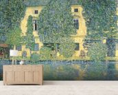 The Schlosskammer on the Attersee III, 1910 (oil on canvas) wall mural living room preview