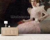 Sonja Knips, 1898 (oil on canvas) wallpaper mural living room preview