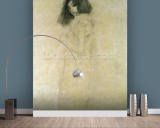 Portrait of a young woman Mural Wallpaper Wall Murals Wallpaper
