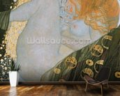 Danae, 1907-08 (oil on canvas) wallpaper mural kitchen preview