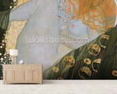 Danae, 1907-08 (oil on canvas) wallpaper mural living room preview