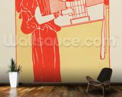 Musik (lithograph) wall mural kitchen preview
