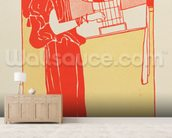 Musik (lithograph) wall mural living room preview
