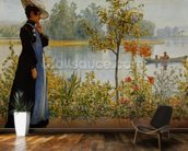 Indian Summer wallpaper mural kitchen preview