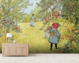 The Apple Harvest Wallpaper Mural Wall Murals Wallpaper