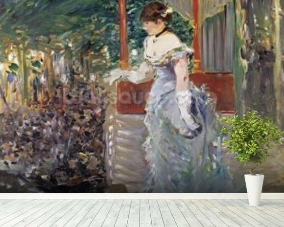 Cafe Concert, 1879 (oil on canvas) wall mural room setting
