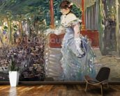 Cafe Concert, 1879 (oil on canvas) wall mural kitchen preview