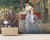 Cafe Concert, 1879 (oil on canvas) wall mural living room preview
