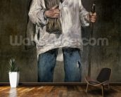 The Ragman, 1869 (oil on canvas) wall mural kitchen preview