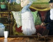 Nana, 1877 (oil on canvas) wall mural kitchen preview