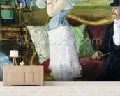 Nana, 1877 (oil on canvas) wall mural living room preview