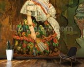 Lola de Valence, 1862 (oil on canvas) wall mural kitchen preview