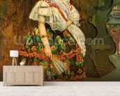 Lola de Valence, 1862 (oil on canvas) wall mural living room preview