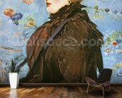 Autumn (Mery Laurent), 1882 (oil on canvas) wall mural kitchen preview