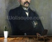 Portrait of Georges Clemenceau (1841-1929) 1879 (oil on canvas) wall mural kitchen preview