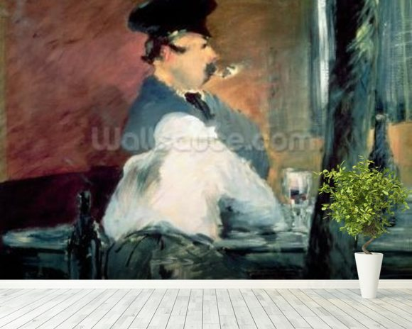 The Bar, 1878-79 (oil on canvas) wall mural room setting