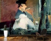 The Bar, 1878-79 (oil on canvas) wall mural kitchen preview