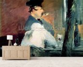 The Bar, 1878-79 (oil on canvas) wall mural living room preview