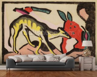 Marc, Franz Wall Murals Wallpaper
