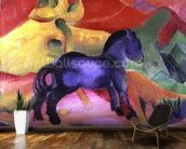 Little Blue Horse, 1912 (oil on canvas) wall mural kitchen preview