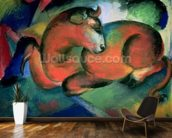 The Red Bull, 1912 (oil on canvas) mural wallpaper kitchen preview
