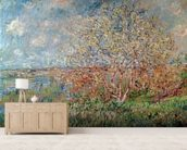 Spring, 1880-82 (oil on canvas) wall mural living room preview