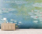 Nympheas at Giverny, 1908 (oil on canvas) wall mural living room preview