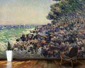 Cap Martin, 1884 (oil on canvas) mural wallpaper kitchen preview
